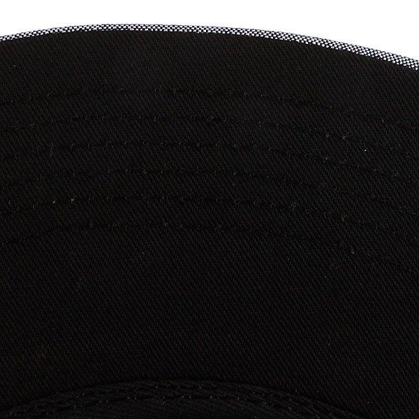 Бейсболка пятипанелька Huf Oxford Volley Black