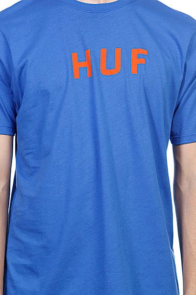 Футболка Huf Original Logo Tee Royal