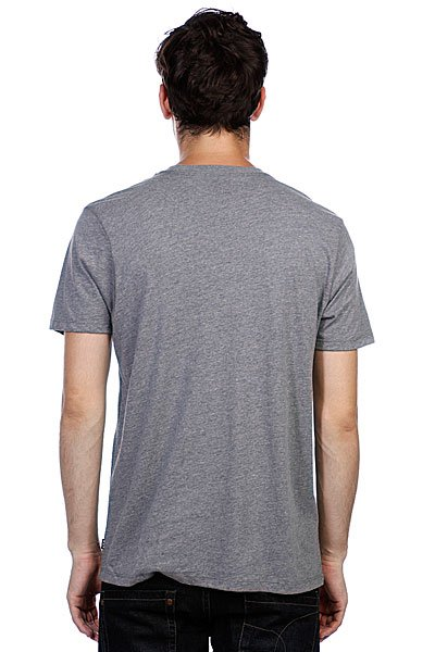Футболка Huf Script Tee Gray Heather