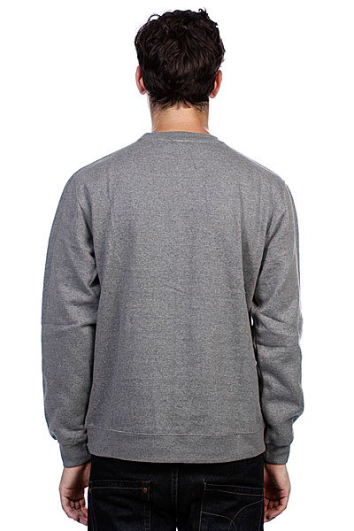 Толстовка Huf Diction Crew Gray Heather