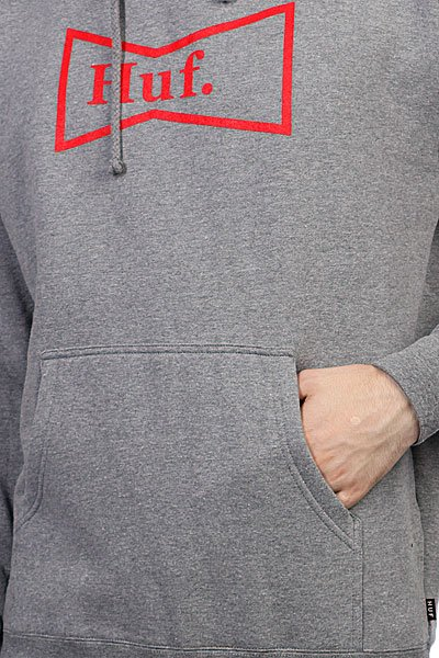 Кенгуру Huf Genuine Pullover Hood Gray Heather