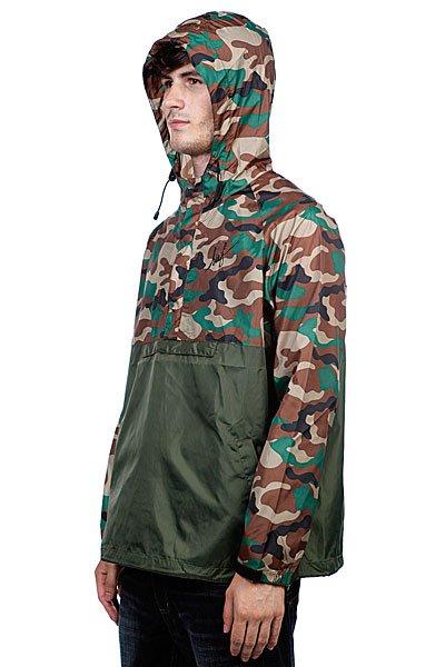 Анорак Huf Ventura Ripstop Anorak Military/Camo