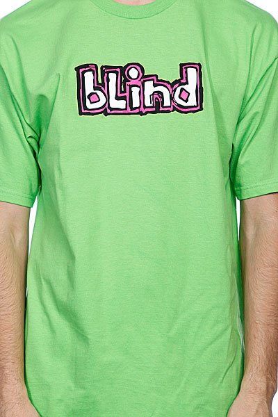 Футболка Blind Fluorescent Og Logo Lime