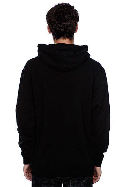 Толстовка кенгуру Cliche Scribble Pullover Black