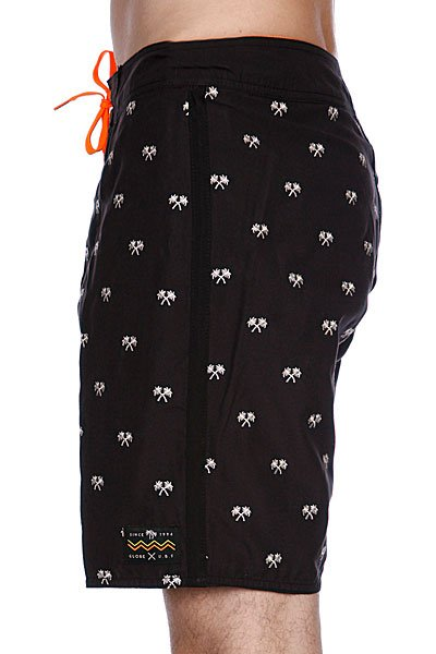 Пляжные мужские шорты Globe The Palms Boardshort Blk