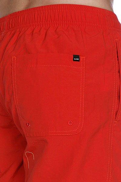 Пляжные мужские шорты Globe Dana Ii Pool Short Red Clay