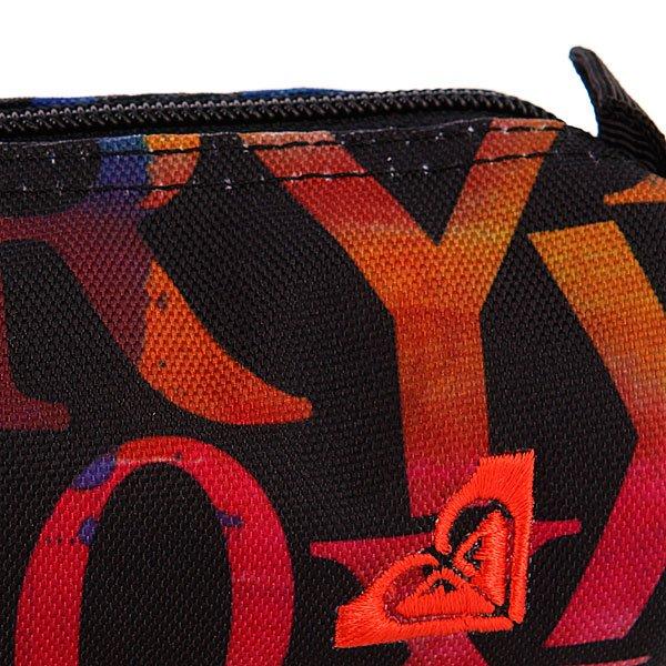 Пенал женский Roxy Женский Off The Wall Lettering X3 Anth Ax Deep Bl - Подарок