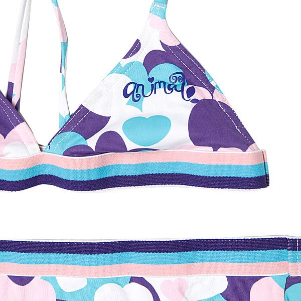 Купальник детский Animal Thundrcats Bikini White/Purple
