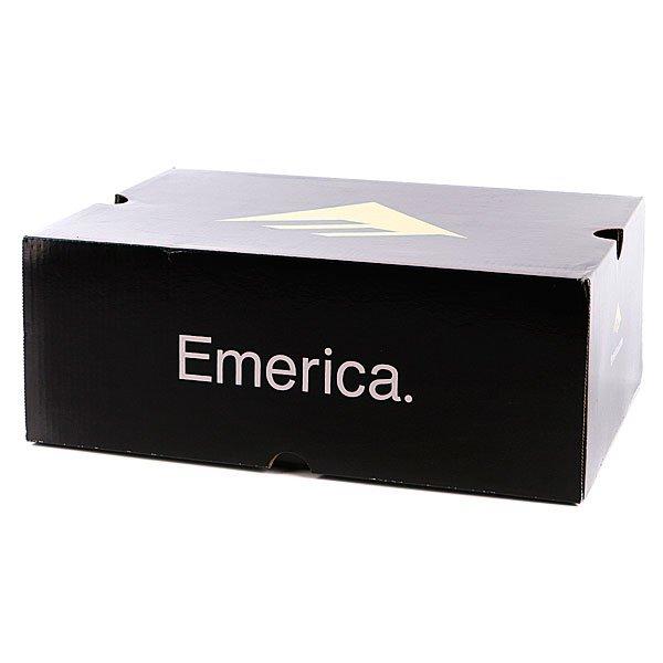 Кеды низкие Emerica Laced Black/Red/Grey
