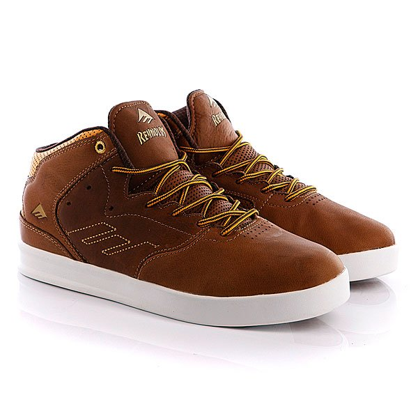 Кеды высокие Emerica The Reynolds Lx Brown/Tan/Brown