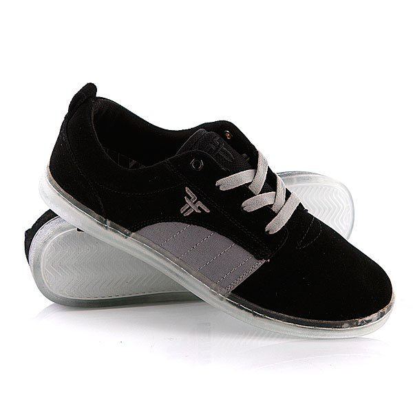 Кеды низкие Fallen Derby Black/Cement Grey