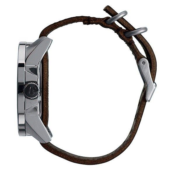 Часы Nixon Corporal Silver/Brown