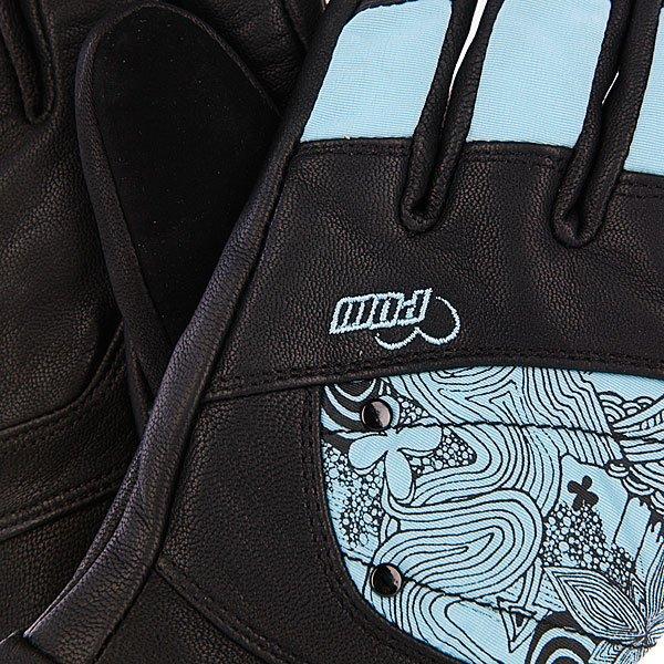 Перчатки сноубордические женские Pow Ws Feva Glove Gtx Blue
