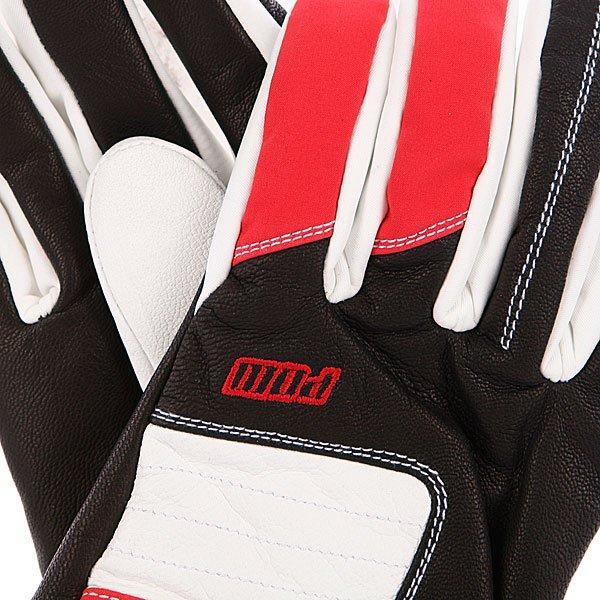 Перчатки сноубордические Pow Villain Glove Red