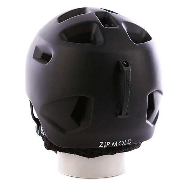 Шлем Bern G2 Matte Zipmold Black W/ Black Knit
