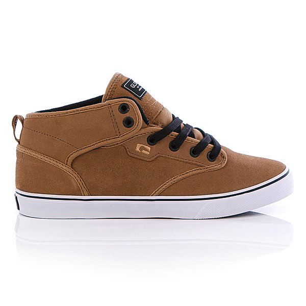 Кеды высокие Globe Motley Mid Golden Brown/Black
