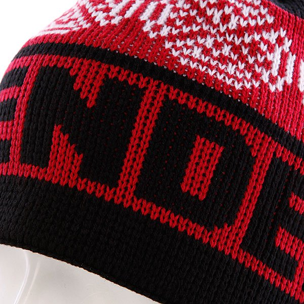 Шапка Independent Woven Crosses Beanie Red/Black/White