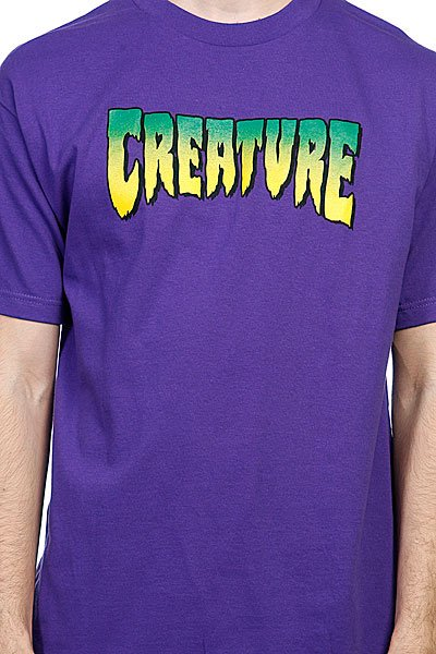 Футболка Creature Logo Purple