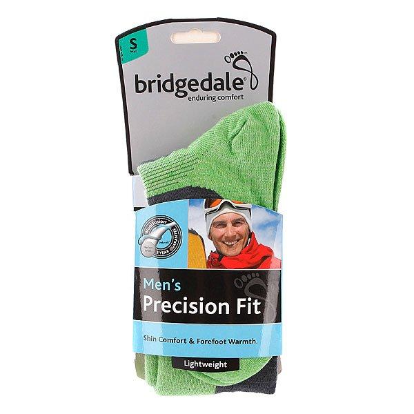 Носки сноубордические Bridgedale Precision Fit Gunmetal/Apple