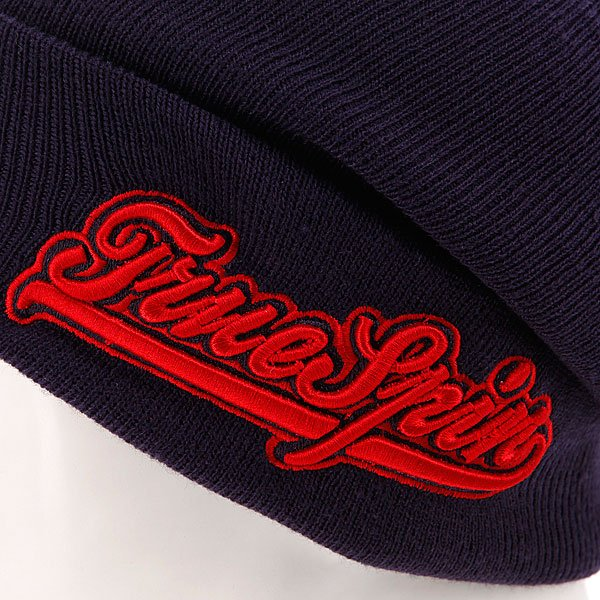 Шапка True Spin Retro Font Classic Navy/Red