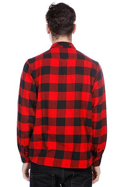Рубашка в клетку Dickies Sacramento Red