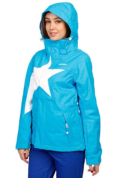 Куртка женская Zimtstern Snow Jacket Snowy Women Blue/White