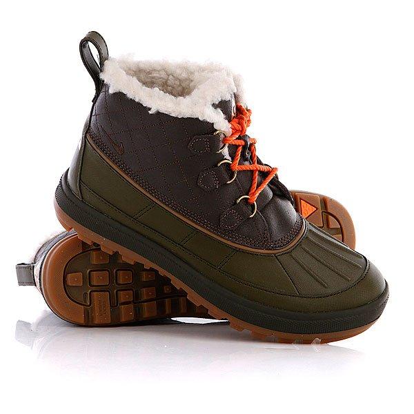 Ботинки зимние женские Nike ACG Woodside Chuka 2 Baroque Brown/Baroque Brown