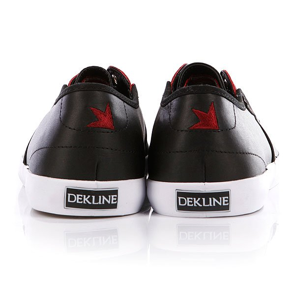 Кеды Dekline Daily Black/Merlot Full