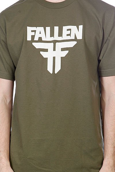 Футболка Fallen Insignia Logo Surplus Green/Dust