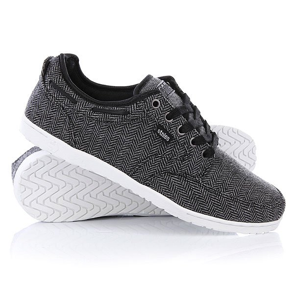 Кеды низкие Etnies Dory Grey/Black