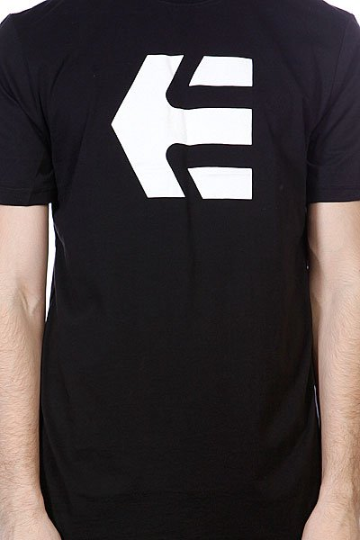 Футболка Etnies Icon 13 S/S Tee Black/White
