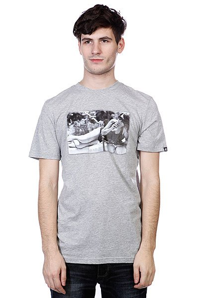 Футболка Etnies Guilty As Charged S/S Tee Grey/Heather