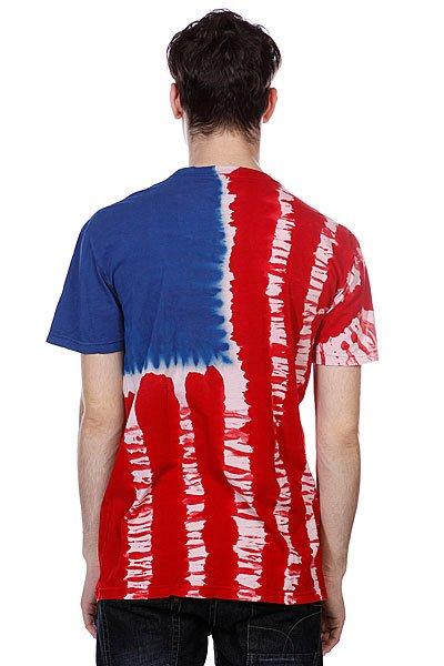 Футболка Altamont Flagman S/S Tee Red