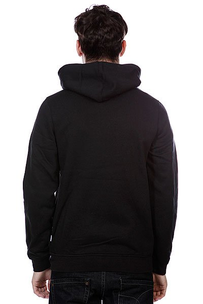 Толстовка Etnies Corporate Zip Fleece Black
