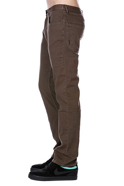Джинсы прямые Emerica Standard Issue 5Pkt Chino Brown