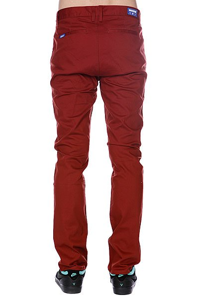 Штаны прямые Etnies Cash Out Chino Pant Rust