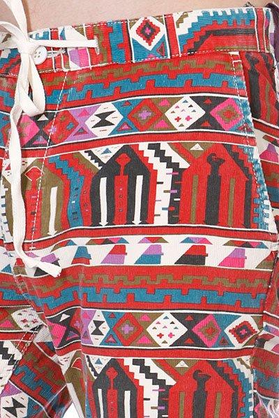 Штаны прямые Altamont Adhan Pant Red