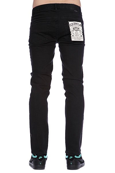 Джинсы узкие Circa Select Slim Denim Black Overdye