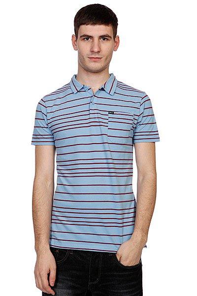 Поло K1X Line Polo Shirt Burgundy/Light Blue