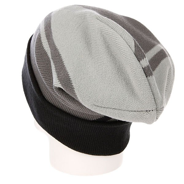 Шапка носок True Spin Stripes Black/Grey