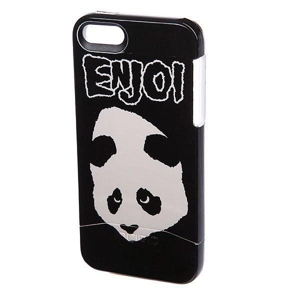 Чехол для Iphone Enjoi Doesnt Fit Edge Iphone 5 Case Black/White