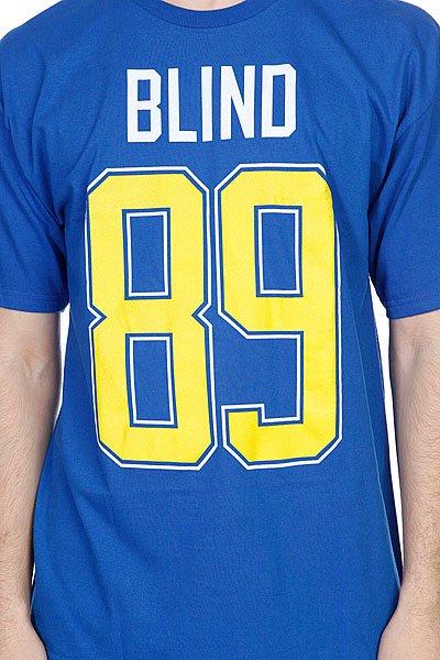 Футболка Blind Number 89 Royal