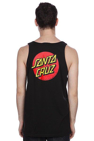 Майка Santa Cruz Classic Dot Tank Black