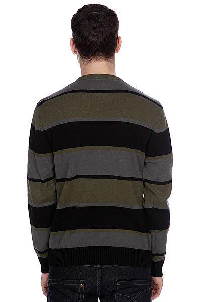 Джемпер Zoo York Striped Crew Sweater Black