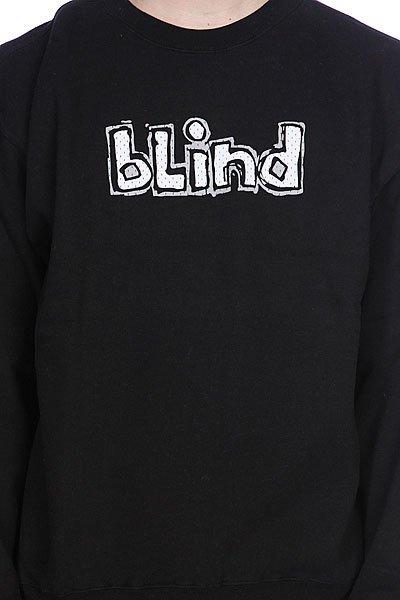 Толстовка Blind Og Jersey Crew Black