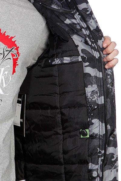 Пуховик Zoo York Zoo Snorkle Black (Camo)