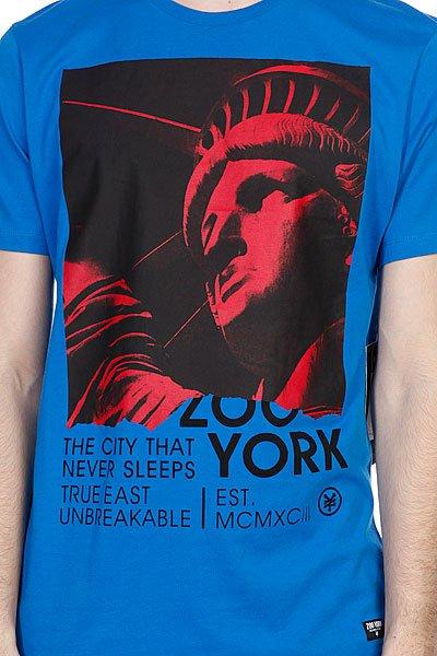 Футболка Zoo York City Never Sleeps Royal