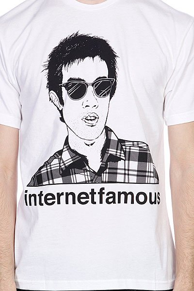 Футболка Enjoi Internet Famous Premium White