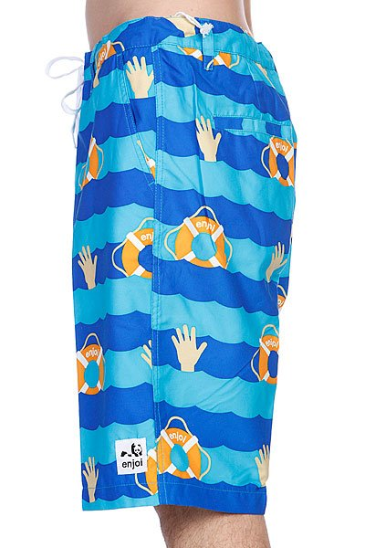 Шорты пляжные Enjoi Cant Swim Trunk Blue