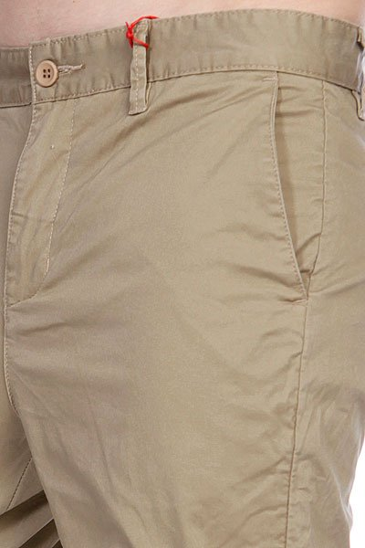 Штаны прямые Globe Goodstock Drop Crotch Chino Stone